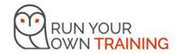 Run Your Own Training Logo